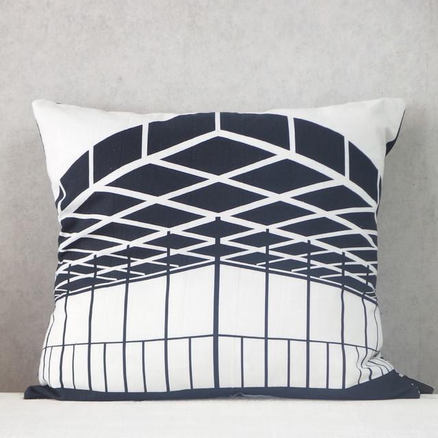 kissen neue nationalgalerie modern dekokissen other metro von design. Black Bedroom Furniture Sets. Home Design Ideas