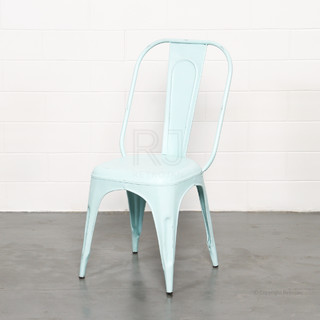 FRANKIE CAFE DINING CHAIRS BLUE Industrial Melbourne By Retrojan