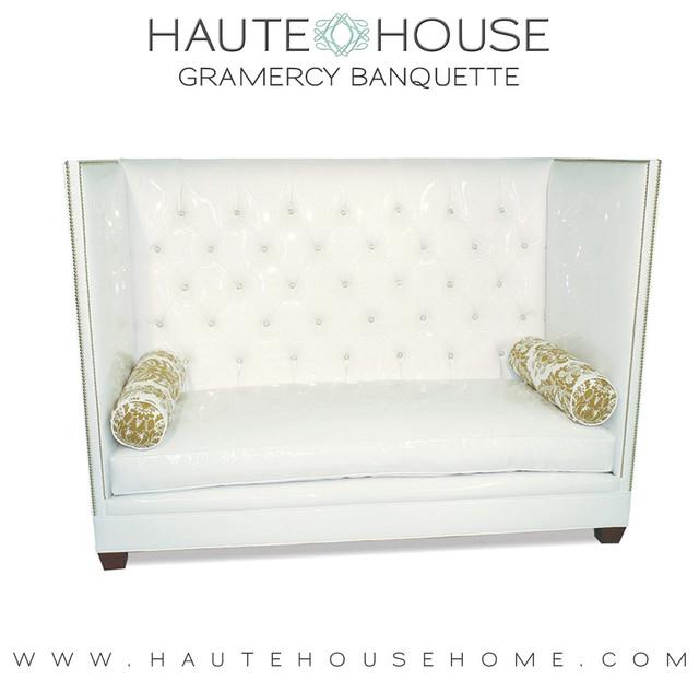 haute house banquettes. Black Bedroom Furniture Sets. Home Design Ideas