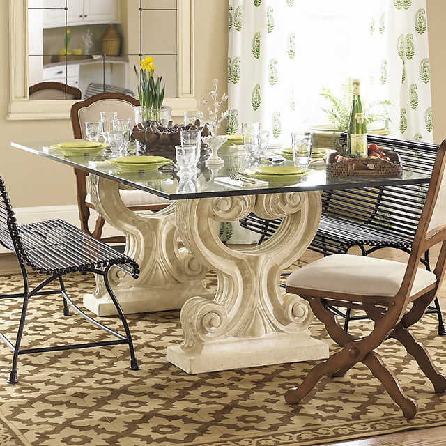 Ballard designs twin acanthus dining contemporary for Ballard designs dining room