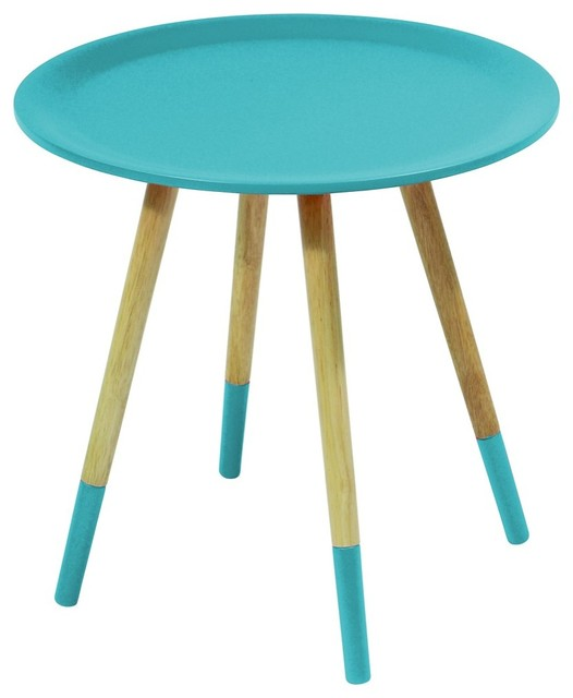 table basse two tone couleur bleu modern coffee tables