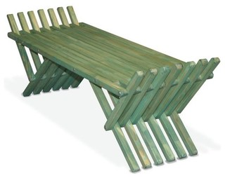 French Bench X90 Modern Garden Benches By GloDea