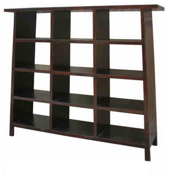 Elegant Large A Shape Display Cabinet