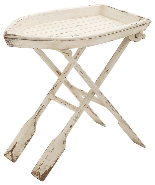 Wood Folding Table Beach Style Coffee And Accent Tables By