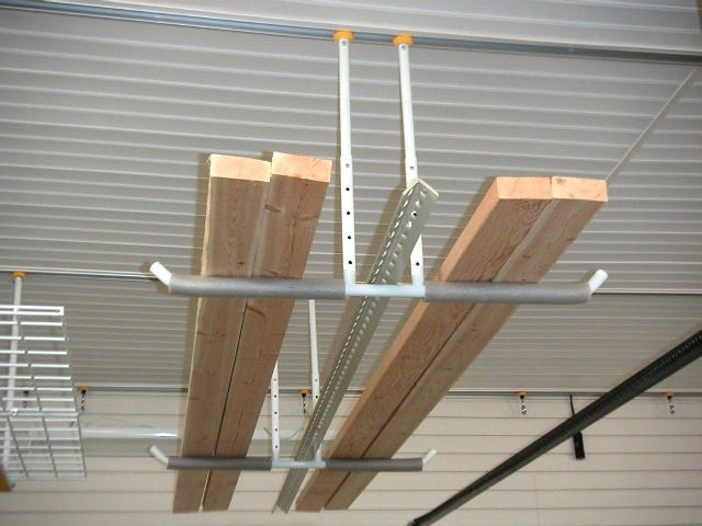 Hang Ladder In Garage How To Store A On The Ceiling 2hang