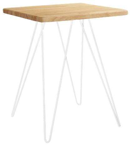 photos  cadix table basse en chene massif moderne
