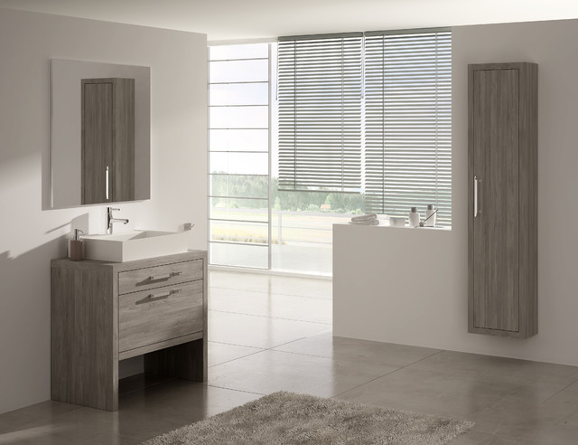 Montreal bath vanity 32 inch contemporary bathroom for Bathroom design montreal