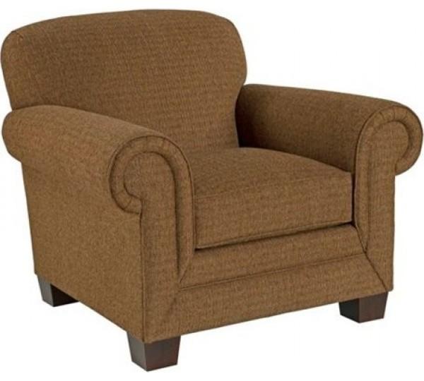 Broyhill Armchair: Ava Chair In Brown