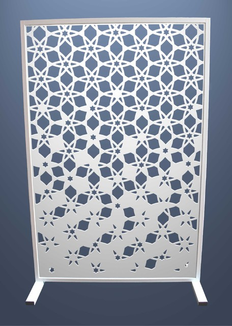 Laser Cut Room Partitions