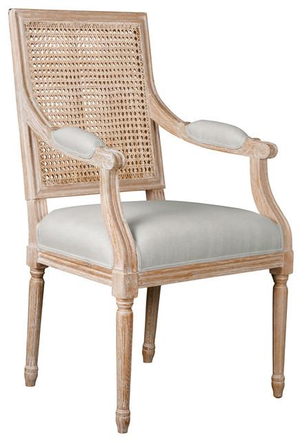 Bungalow 5 Annette Limed Oak Armchair Modern Furniture