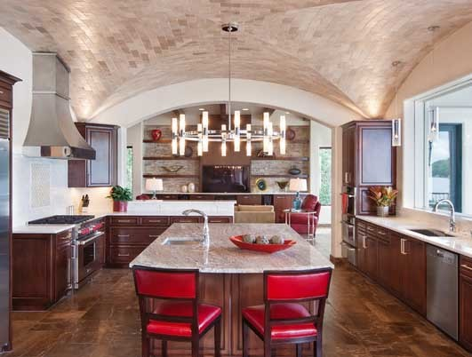 Groin vault ceiling ideas mediterranean other metro for Acme kitchen cabinets calgary