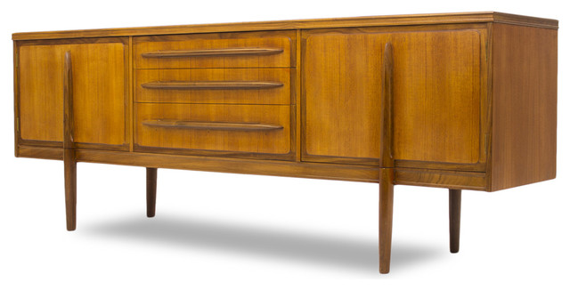 Consigned Danish Style Credenza Or Media Console - Scandinavian - Media Cabinets - by ...