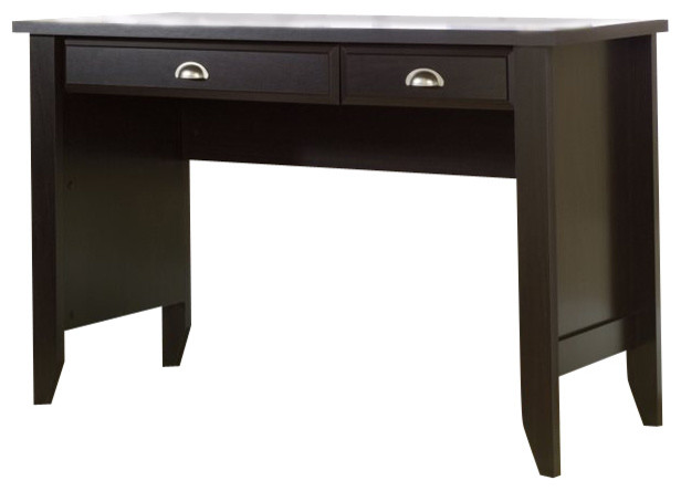 Sauder Shoal Creek Computer Desk In Jamocha Wood