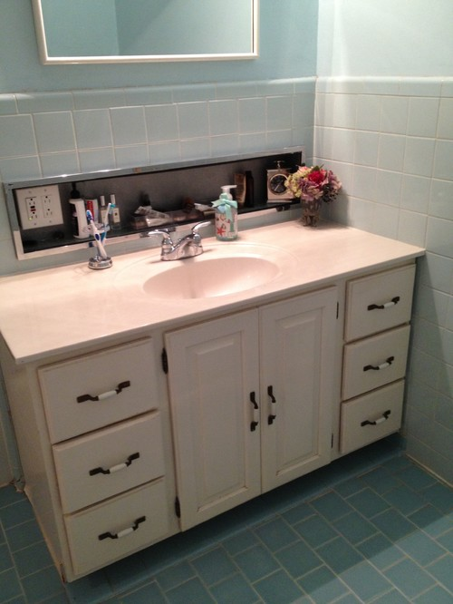 Need to update 1950s style bathroom for Bathroom 1950 style