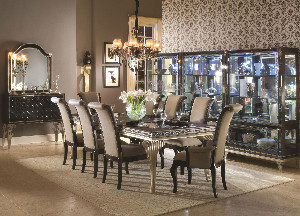 Hollywood Swank Dining Set Modern Dining Table Sets New York By Home Living Furniture