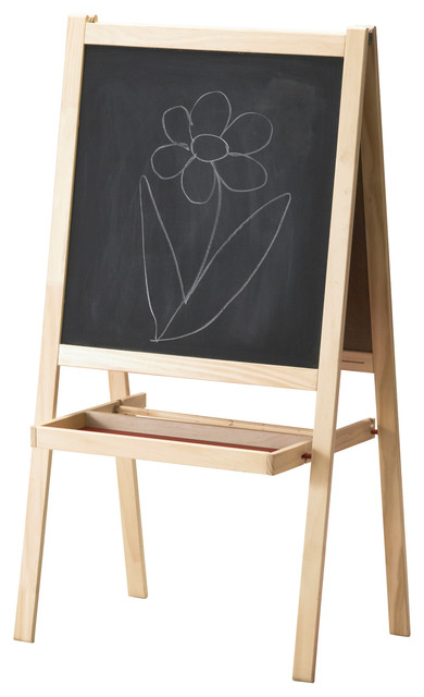 Children's Easel / Chalkboard - Kids Toys And Games - by Stephmodo
