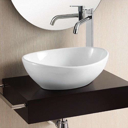 Modern Vessel Sinks : Caracalla Vessel Sink CA4047 - Modern - Bathroom Sinks