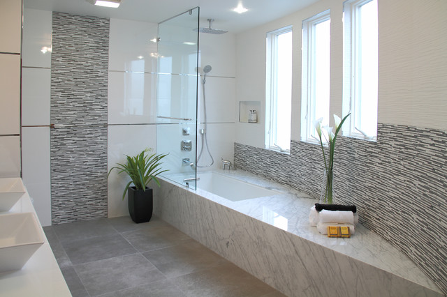 Private residence palo alto ca contemporain salle for Salle bain porcelanosa