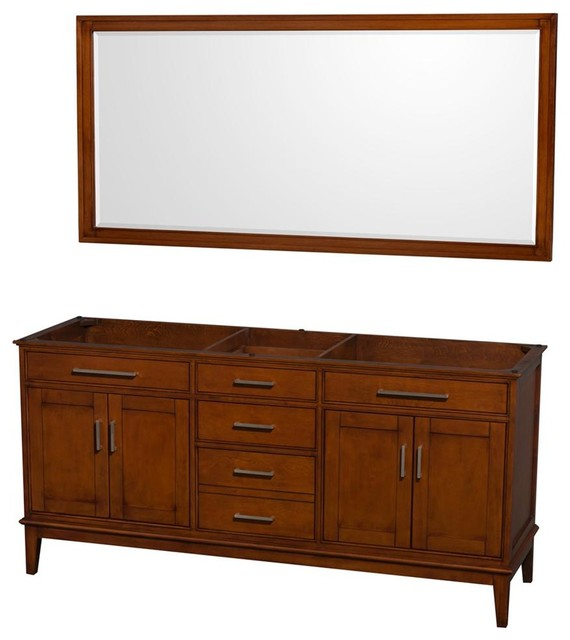 72 In Eco Friendly Double Vanity With Mirror Transitional Bathroom Vanities And Sink