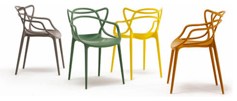 Kartell Masters Chair - Midcentury - Dining Chairs - by YLiving.com