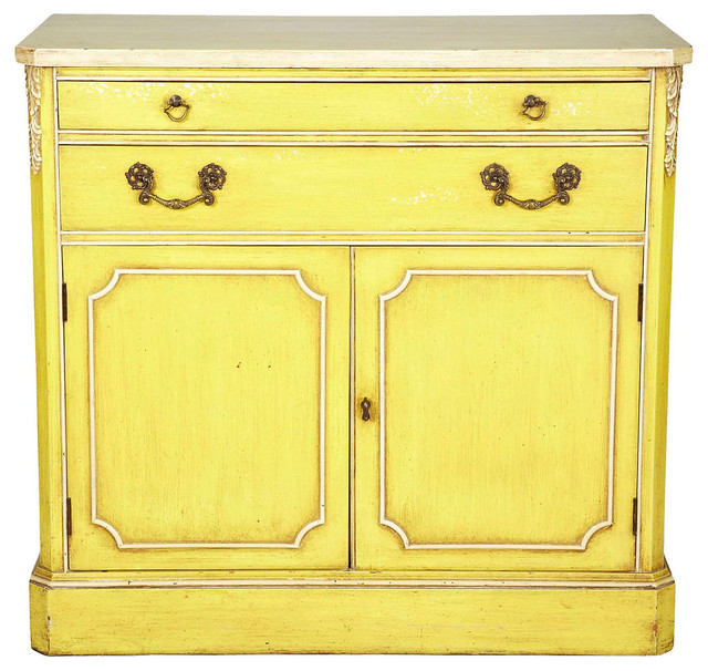 1960s Yellow Buffet Contemporary Buffets And Sideboards