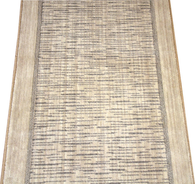 Persian Rugs Wellington: Wellington Thistle Beige Wool Hall Or Stair Carpet Runner
