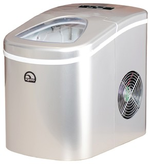 Igloo Compact Ice Maker, Silver - Ice Makers - by Diddly Deals