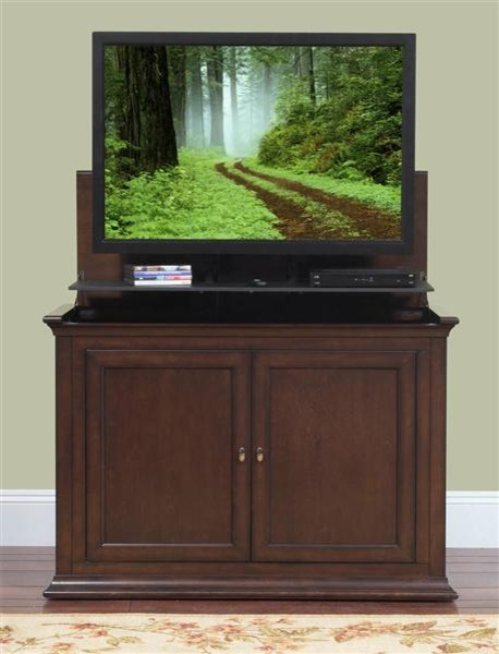 """Harrison TV Lift Cabinet For Flat Screen TV's Up To 46"""" - Traditional ..."""