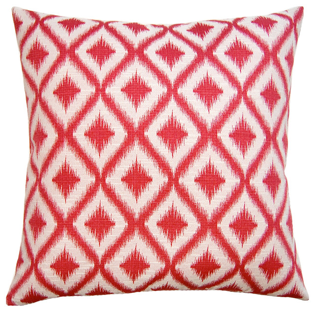 Decorative Throw Pillows Pink : Unpocobusy Pink Diamonds Throw Pillow - Modern - Decorative Pillows - by Layla Grayce