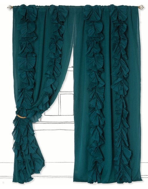 turquoise bedroom curtains,