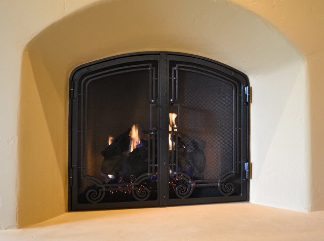 Fireplace Screens Traditional Phoenix By Grizzly Iron Inc