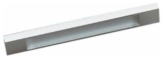 Richelieu Hardware Contemporary Aluminum Pull 128mm Aluminium Finish - Contemporary - Cabinet ...