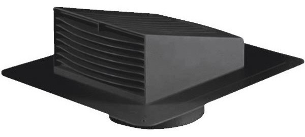Plastic Roof Exhaust Cap - Contemporary - Heating And Cooling - by Hipp Modern Builders Supply