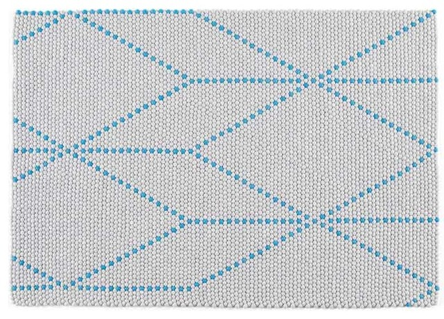 S B Dot Teppich Big Blue 150 X 200 Cm Hay Design
