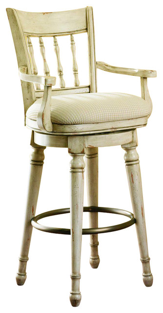 Hooker Furniture Summerglen Swivel Bar Stool Traditional