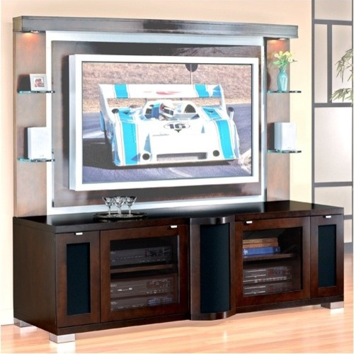 "Allegro 75"" TV Stand - Modern - Entertainment Centers And Tv Stands"