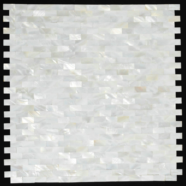 2mm thickness 3 8x4 5 inch mother of pearl tile shell for 8x4 bathroom designs