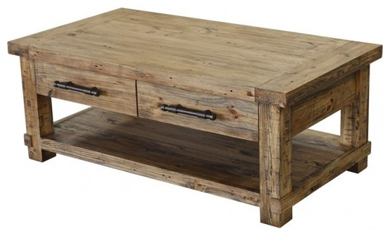 Country Coffee Table Rustic Coffee Tables Other Metro By Warehouse74