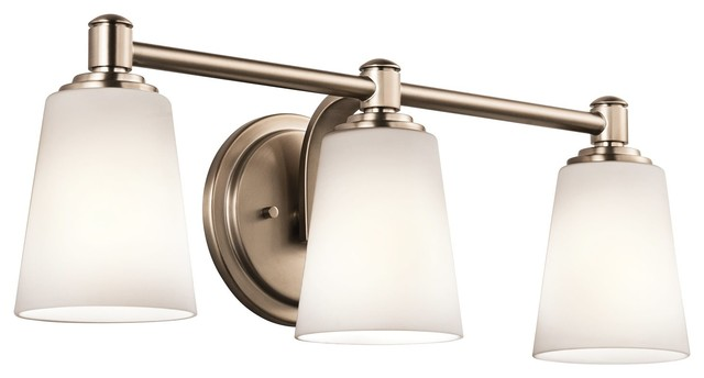 Elegant  Light Bath Swag Transitionalbathroomlightingandvanitylighting