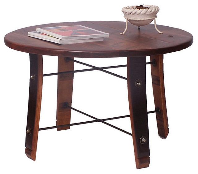 Crafty coffee tables traditional coffee tables chicago by buff on barrels Traditional coffee tables and end tables
