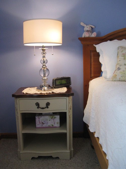 height of side table next to bed 1