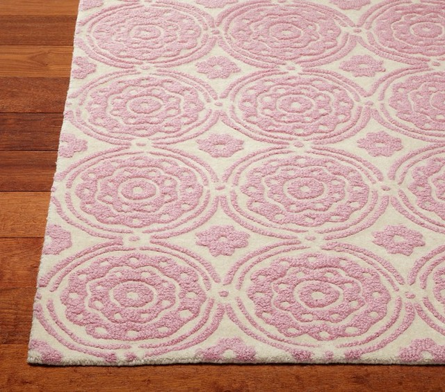 Sweet Flower Rug Contemporary Kids Rugs By Pottery