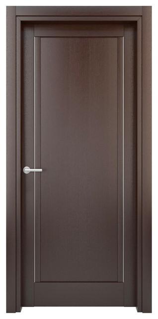 Solid Wood Interior Door – Color: Wenge; Model: W26s, 23x80 - Modern - Interior Doors - by Door ...