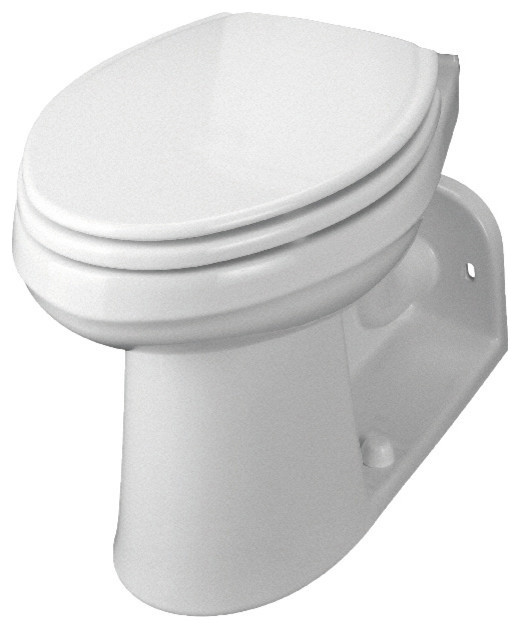Gerber maxwell siphon jet toilet bowl only elongated 1 6 for Gerbiere toit