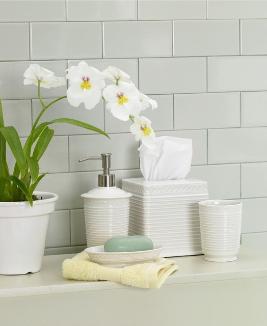 Martha stewart collection trousseau bath accessories macy 39 s traditional bathroom Martha stewart bathroom collection