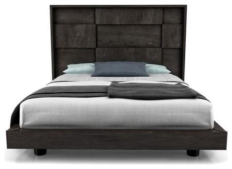 CUBIC High Headboard Bed, King - Modern - Headboards - by YLiving.com