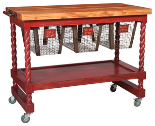 Kitchen islands and kitchen carts by tiffany lamp collection