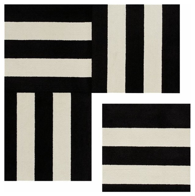 Rug Black And White Rug Joss And Main :