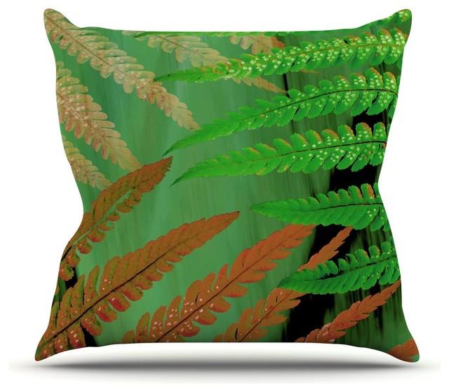 Decorative Pillows Brown And Green : Alison Coxon