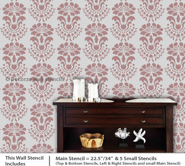 New Wall Painting Stencils - Traditional - by Manav